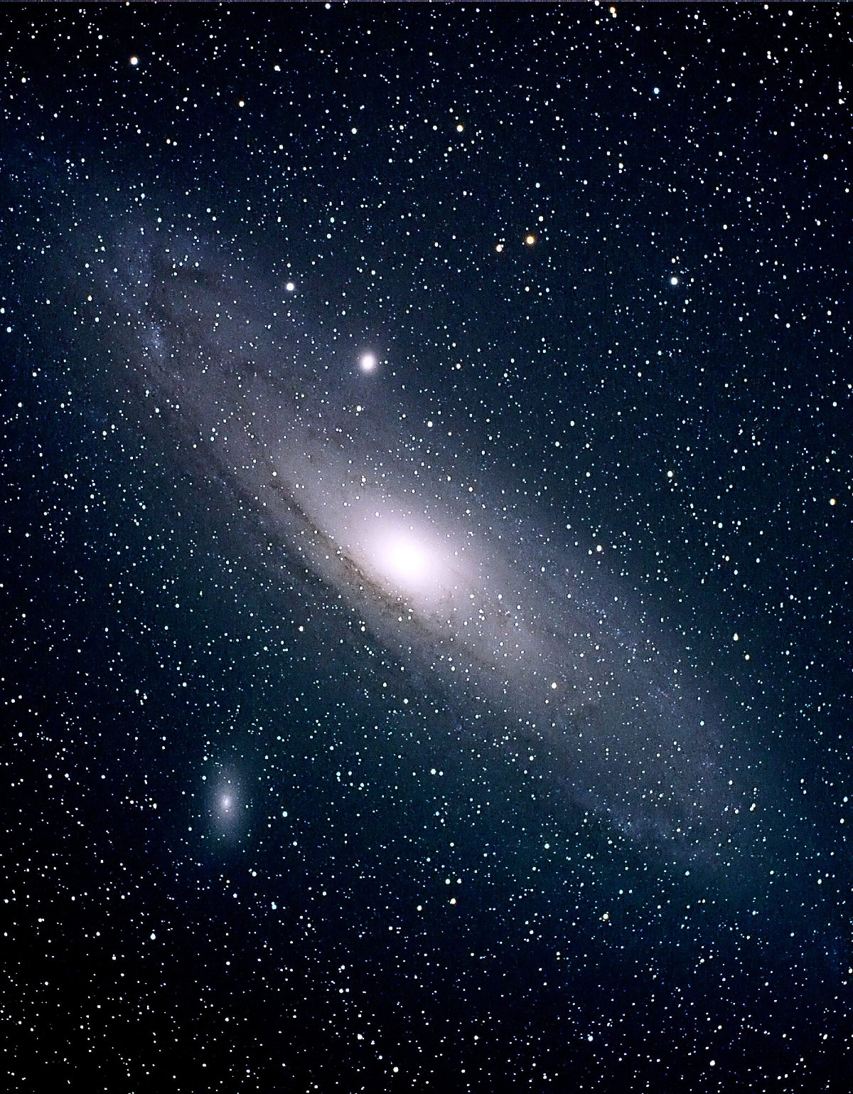 andromeda galaxy distance from - photo #13
